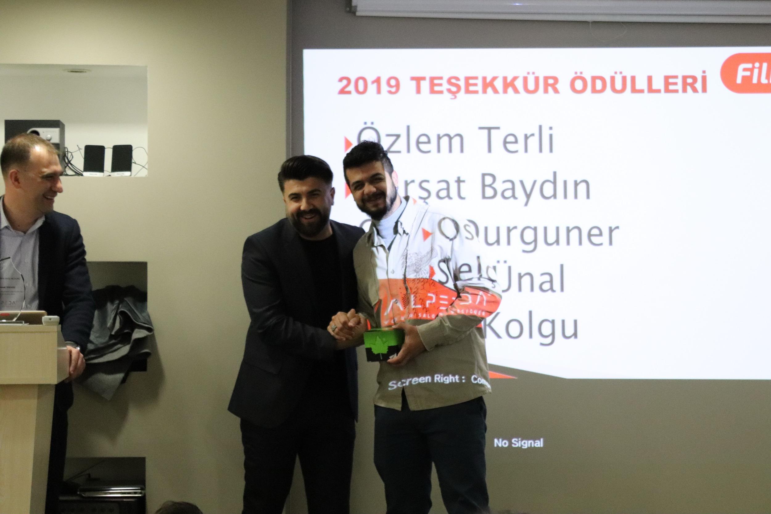 2019 BAŞARI ÖDÜLLERİ PERSONELİMİZE TAKDİM EDİLDİ